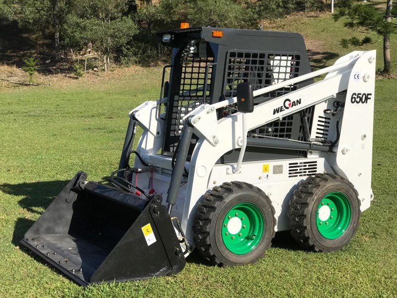 wecan skid steer loader with 4 in 1 bucket 436478 015