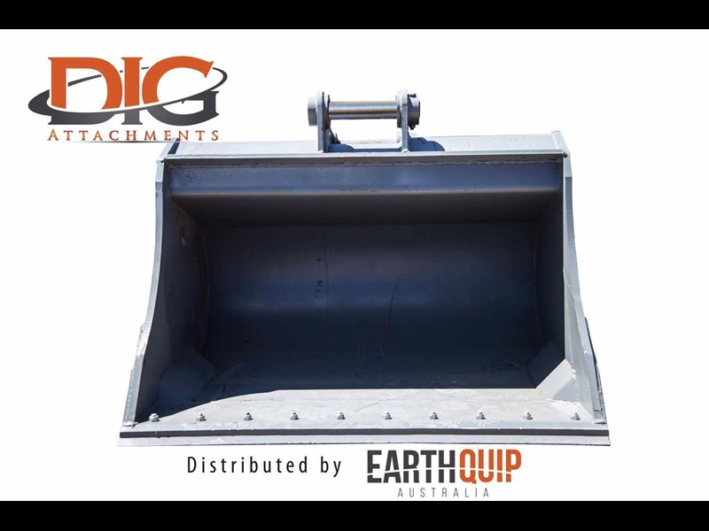 dig attachments 1800mm mud bucket fitted w/boe to suit 20-25t excavators 436567 005
