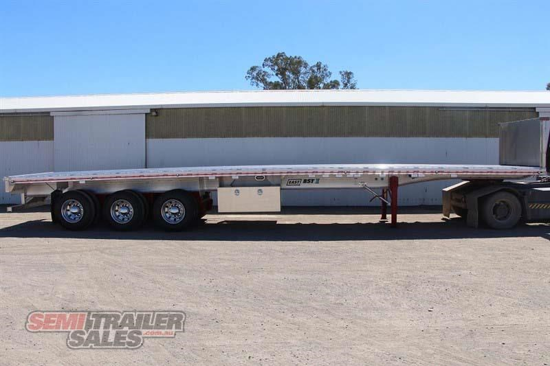east bsii flat top semi trailer 436642 001