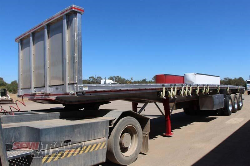 east bsii flat top semi trailer 436642 002