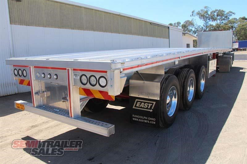 east bsii flat top semi trailer 436642 003