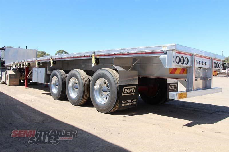 east bsii flat top semi trailer 436642 015