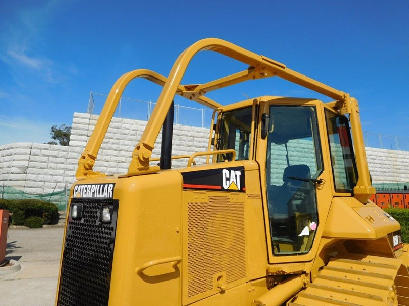 caterpillar #2217d cat d5 dozer d5n.xl bulldozer with ac cab & brush guard [low hours] [machdoz] 436684 014