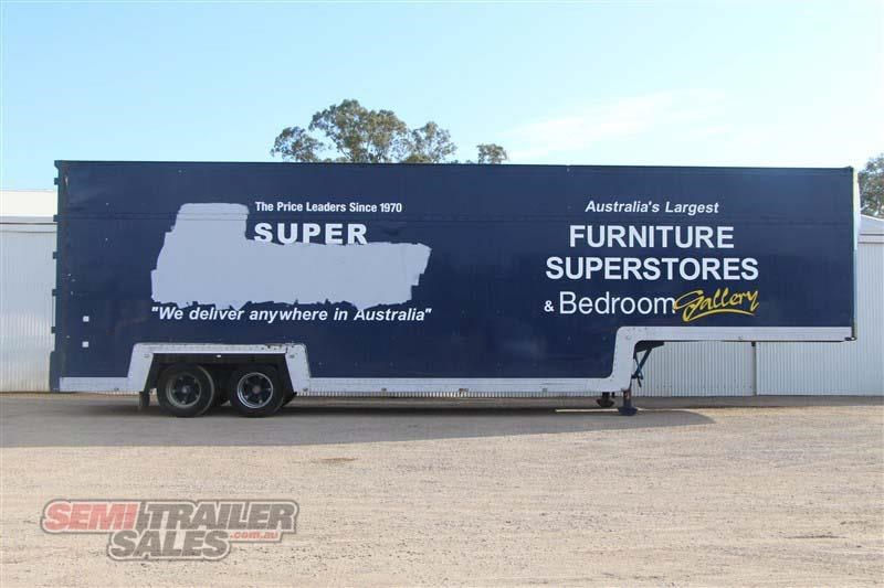 maxi-cube double drop deck pantech semi trailer 436694 001