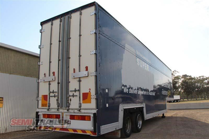 maxi-cube double drop deck pantech semi trailer 436694 003