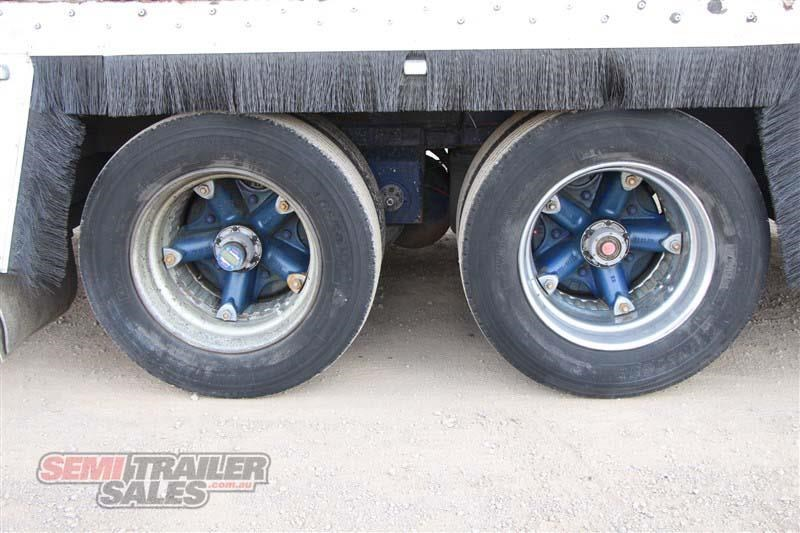 maxi-cube double drop deck pantech semi trailer 436694 007