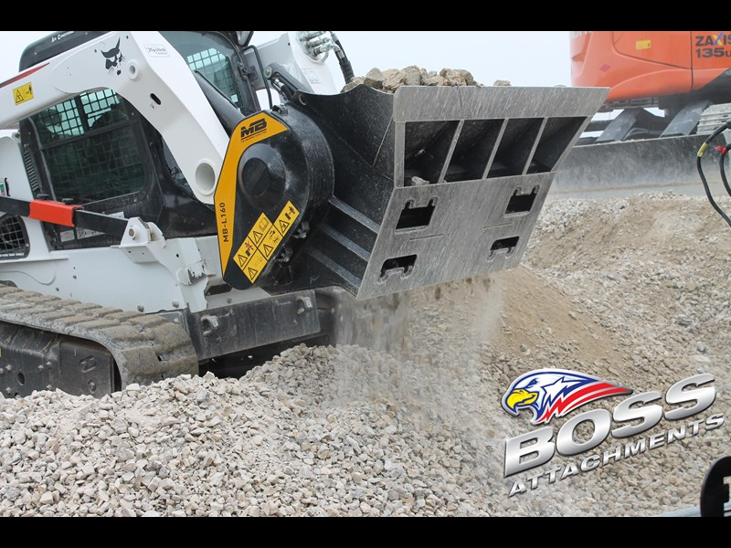 mb l-140 skid/loader crusher bucket by boss attachments 347350 005