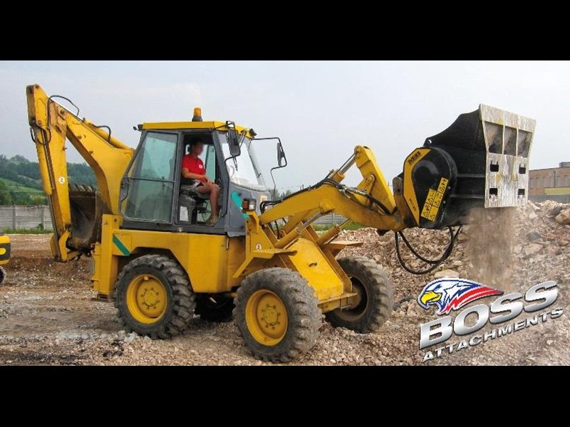 mb l-140 skid/loader crusher bucket by boss attachments 347350 027