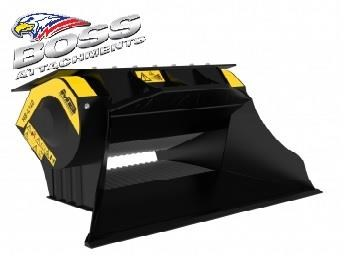 mb l-140 skid/loader crusher bucket by boss attachments 347350 031