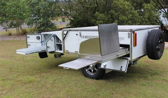 blue tongue camper trailers overland light forward fold camper 437447 007