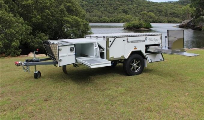 blue tongue camper trailers overland light forward fold camper 437447 009