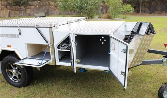 blue tongue camper trailers overland light forward fold camper 437447 015