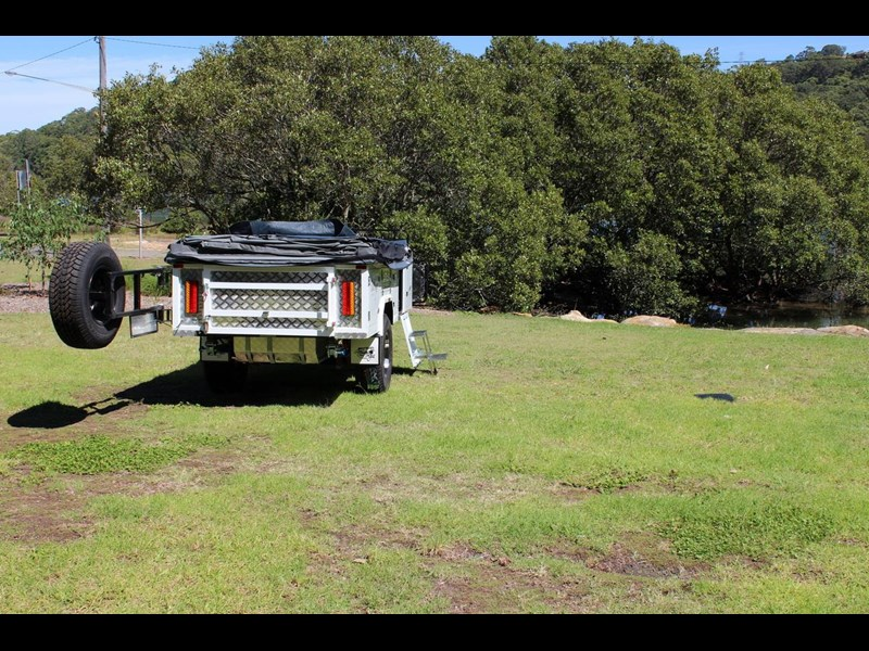 blue tongue camper trailers off road walk up camper trailer 437450 019