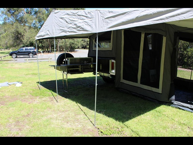 blue tongue camper trailers off road walk up camper trailer 437450 025