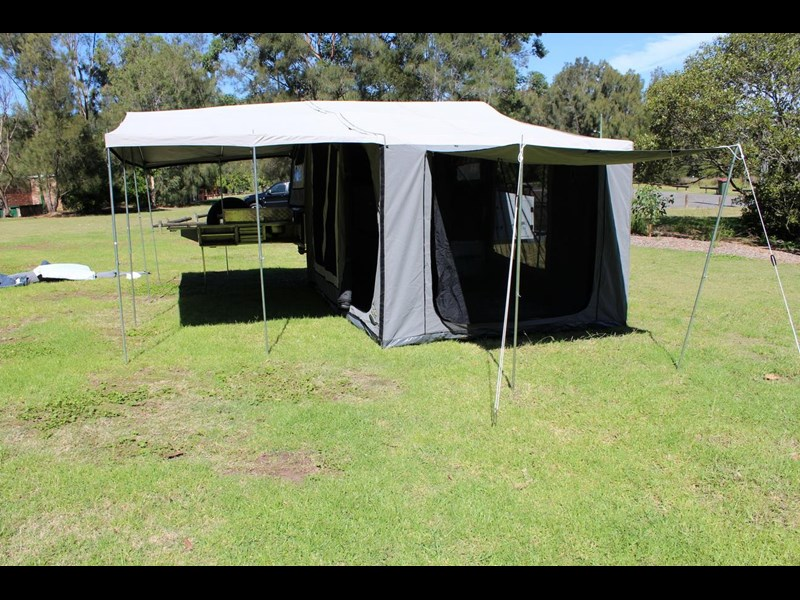 blue tongue camper trailers off road walk up camper trailer 437450 027