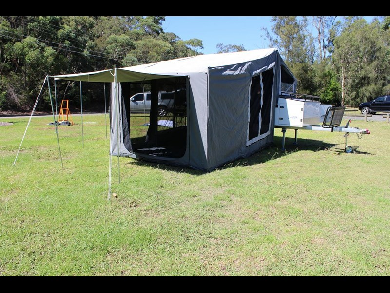 blue tongue camper trailers off road walk up camper trailer 437450 029