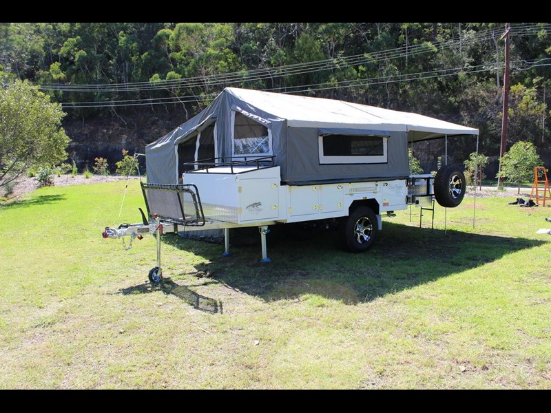 blue tongue camper trailers off road walk up camper trailer 437450 031