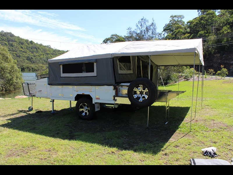 blue tongue camper trailers off road walk up camper trailer 437450 033