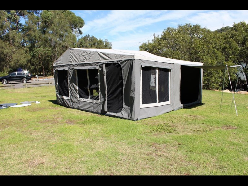 blue tongue camper trailers off road walk up camper trailer 437450 035