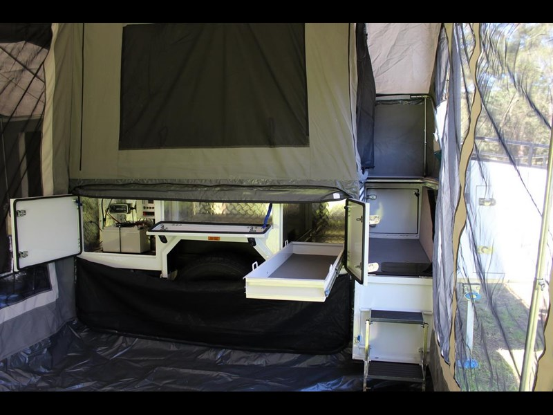 blue tongue camper trailers off road walk up camper trailer 437450 041