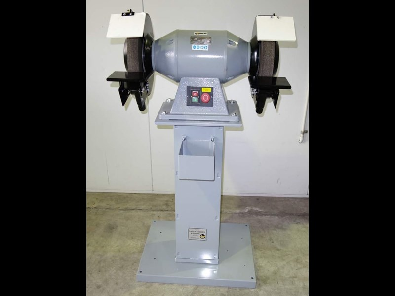 "eximus taiwanese 12"" pedestal grinder 240v with stand 437801 001"