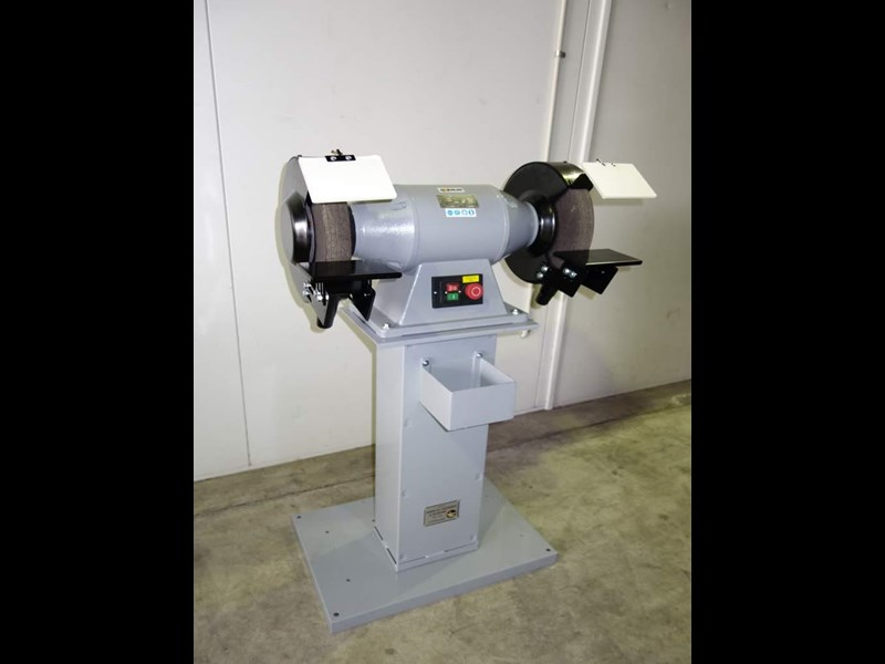 "eximus taiwanese 12"" pedestal grinder 240v with stand 437801 003"