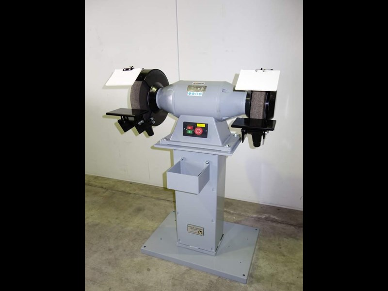"eximus taiwanese 12"" pedestal grinder 240v with stand 437801 005"