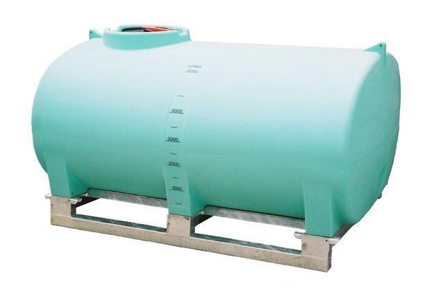pin mount spray tank 5000l pin mount water tank [ptsp05000ktt] with galvanised steel skid [tfwater] 243554 001