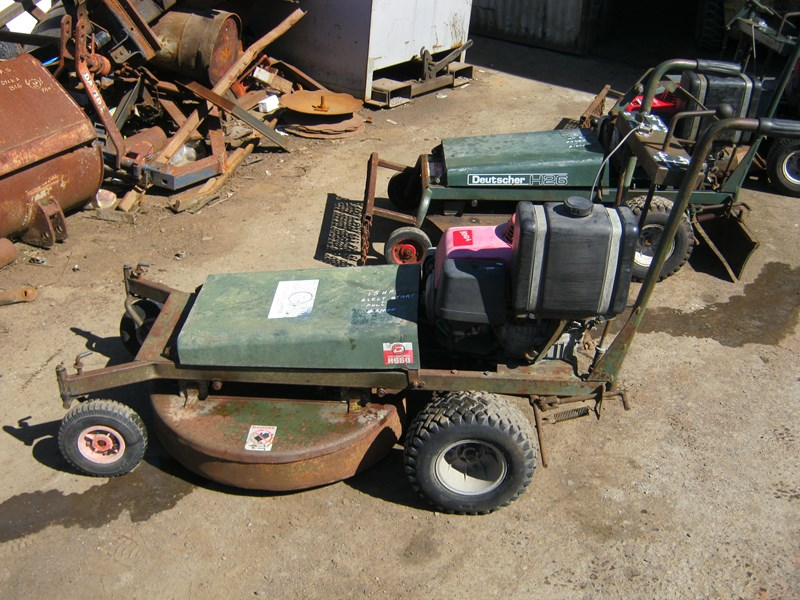 deutscher walk behind self propelled mower 187145 001