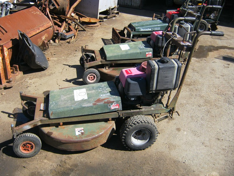 deutscher walk behind self propelled mower 187145 005