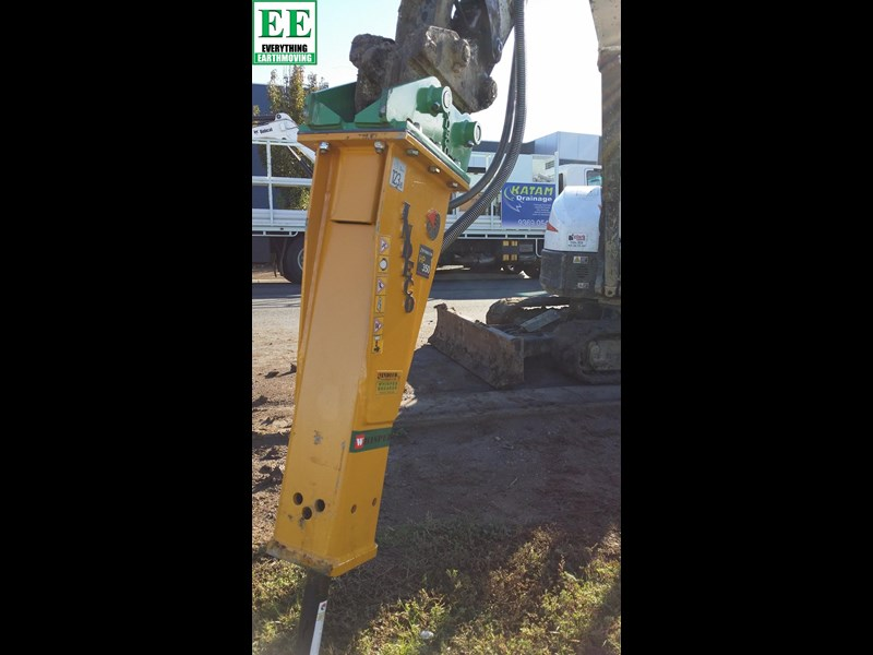 indeco hp200 whisper rock breaker from everything earthmoving 356955 055