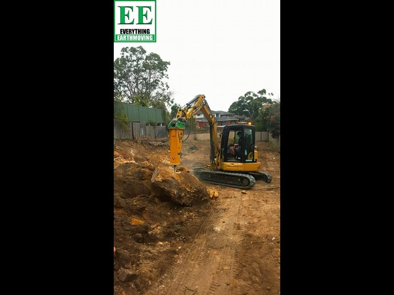 indeco hp200 whisper rock breaker from everything earthmoving 356955 057