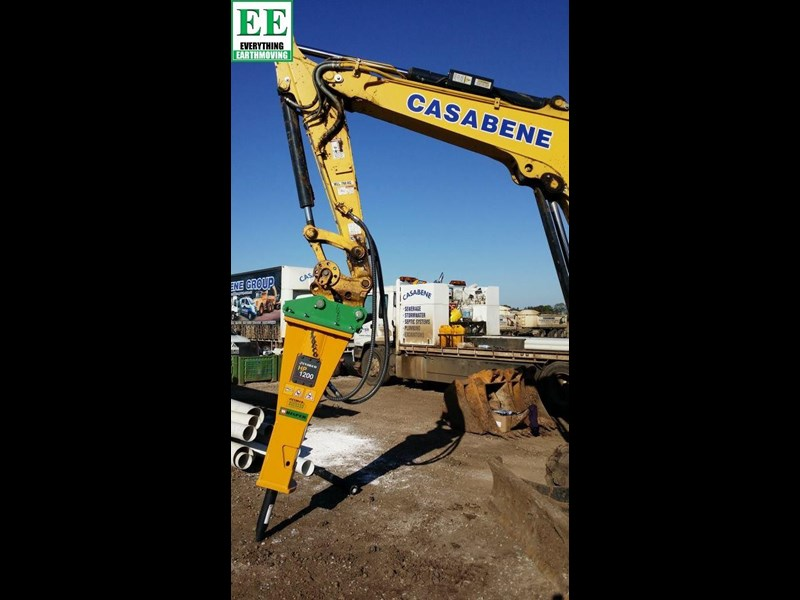 indeco hp200 whisper rock breaker from everything earthmoving 356955 027