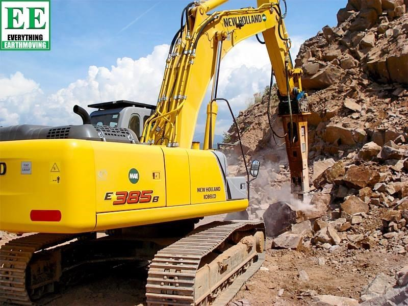 indeco hp200 whisper rock breaker from everything earthmoving 356955 069