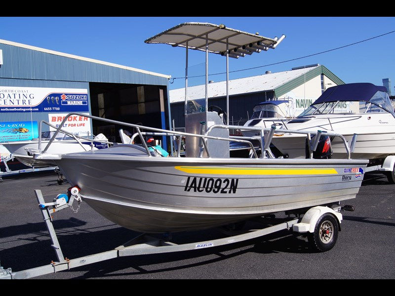 quintrex 420 dory wide body   sold 442734 003