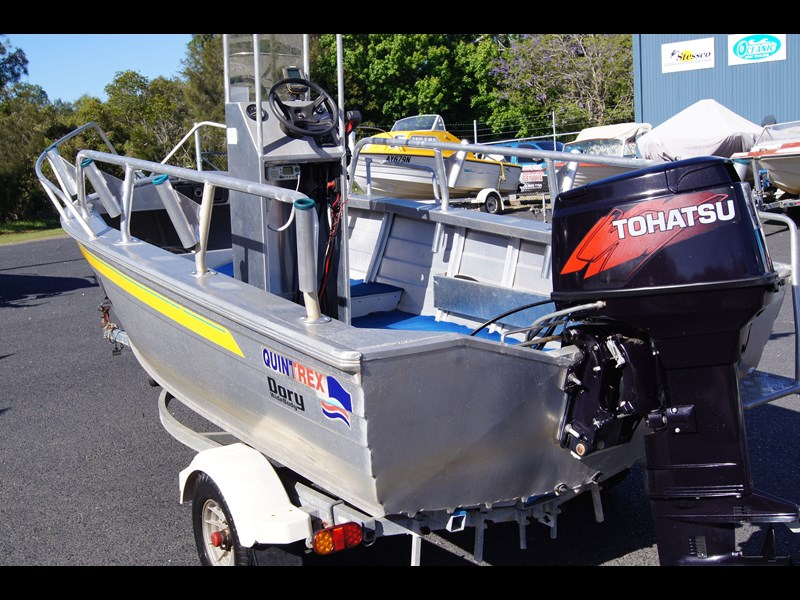 quintrex 420 dory wide body   sold 442734 005