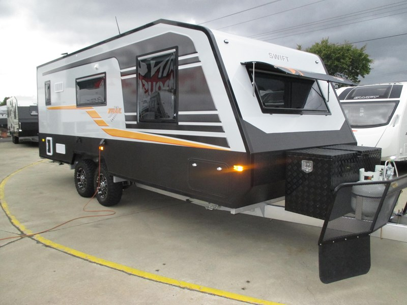 Cool  Off Road Caravan 21 6ft Kokoda Force Viii Family Off Road Caravan 21