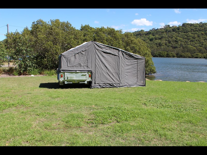 blue tongue camper trailers top quality camper trailer tent / canvas tent top / camper tent of single sunroom 444409 003