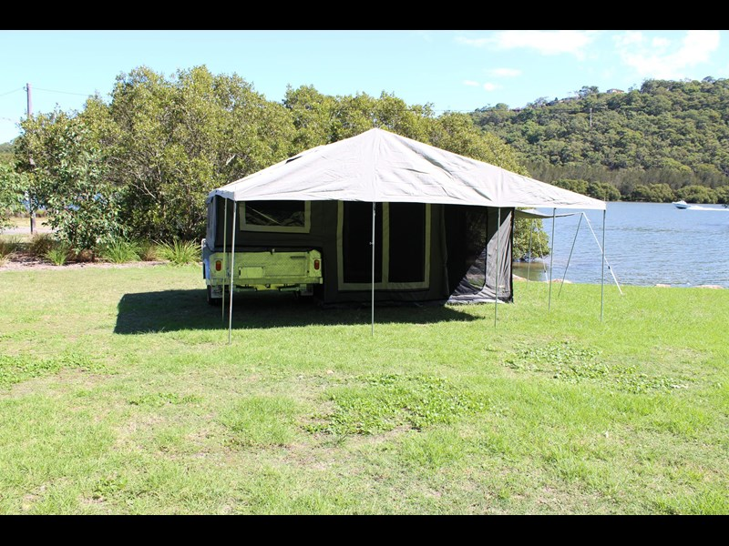 blue tongue camper trailers top quality camper trailer tent / canvas tent top / camper tent of single sunroom 444409 005