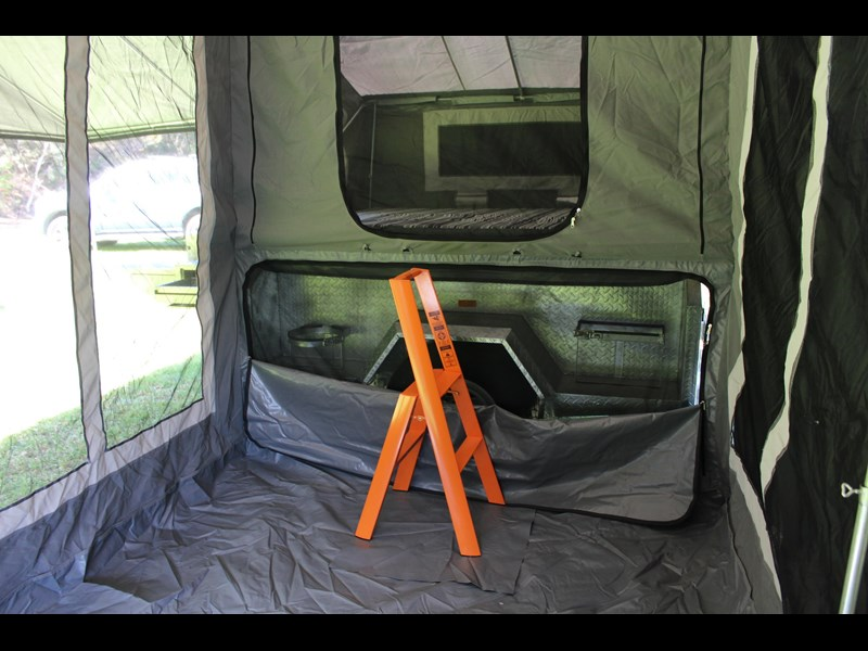 blue tongue camper trailers top quality camper trailer tent / canvas tent top / camper tent of single sunroom 444409 009