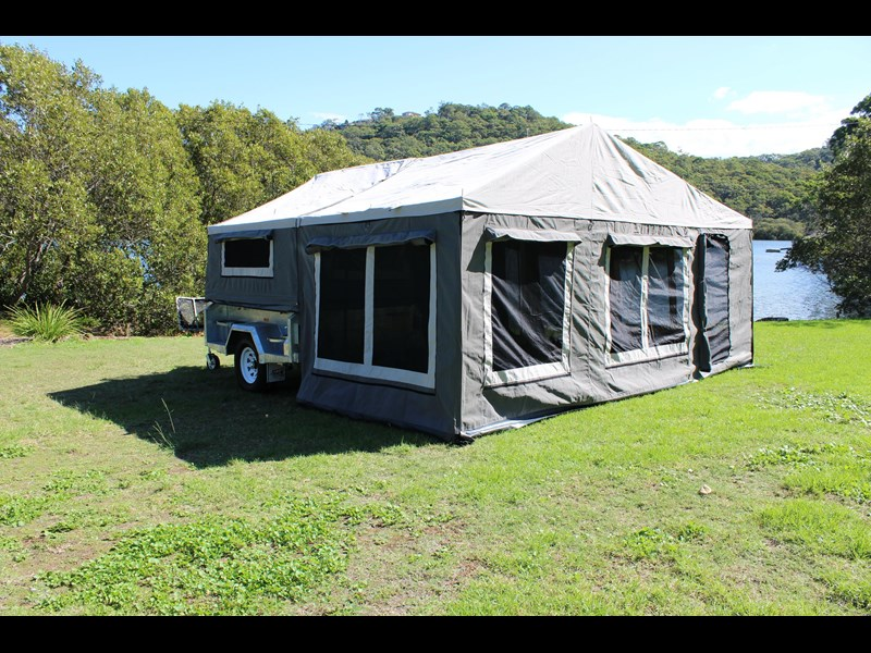 blue tongue camper trailers top quality camper trailer tent / canvas tent top / camper tent of single sunroom 444409 023