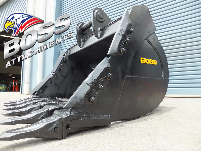 boss attachments boss heavy duty hd rock sieve buckets 20-110 tonne  - in stock 446773 001