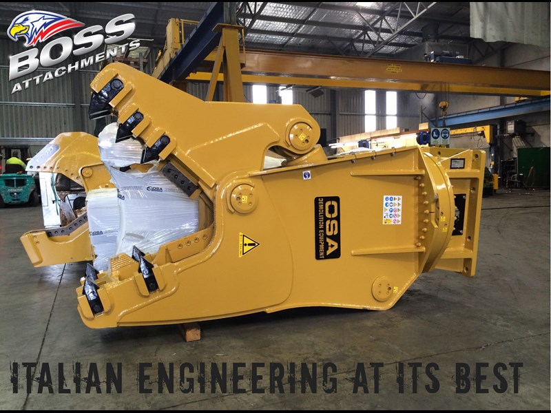 boss attachments osa rs series demolition shears  - in stock 446775 011