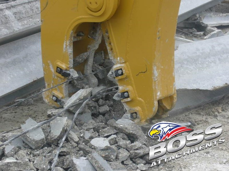boss attachments osa rs series demolition shears  - in stock 446775 029