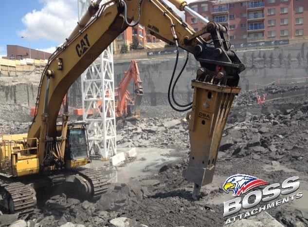 "boss attachments o.s.a 60t-110t excavator rock breakers ""in stock"" 447087 007"