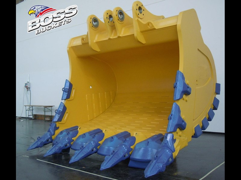 boss attachments boss italia 100-150 ton mine spec rock buckets 447410 003