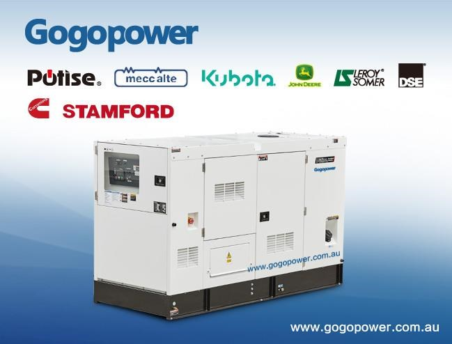 gogopower brand new ds45c5s cummins powered generator 45kva 433900 001