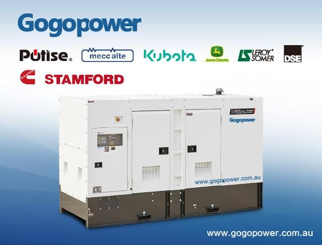 gogopower brand new ds250c5s-au cummins powered generator 250kva 435468 001