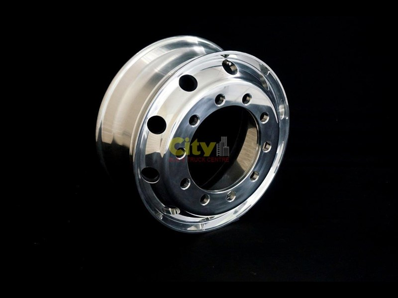 other 8.25x22.5 polished alloy rims 448574 009