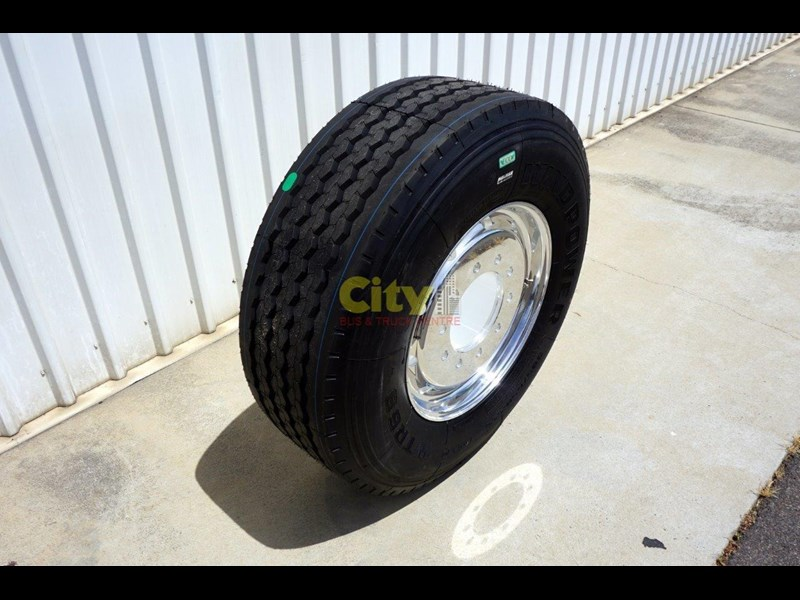 other 10/285 11.75x22.5 super single rim & tyre package 448576 007